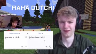tommy speaks dutch to fundy (stream highlights)
