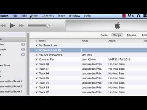 How to make mp3 files with iTunes