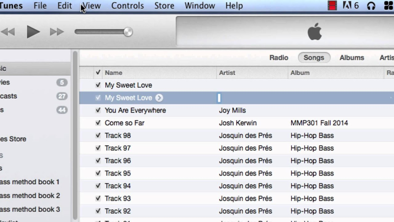 how to cut mp3 itunes