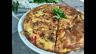 Patatesli Sebzeli Omlet Tarifi Hafta Sonu Kahvaltısının Yıldızı Mutfağımdaki Tadlar