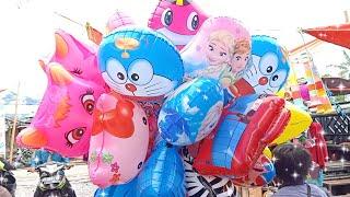 Habil Beli Balon Karakter Lagi   Balon Tayo dan Burung