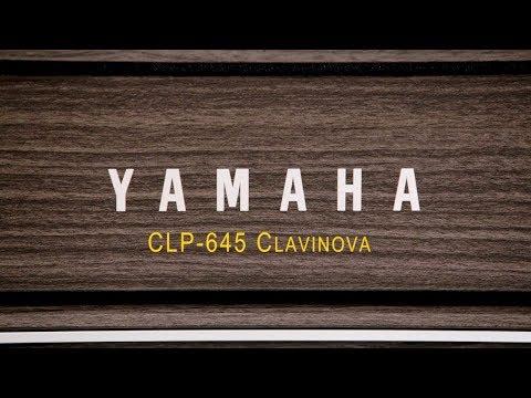 Yamaha Clavinova CLP-645 Digital Piano