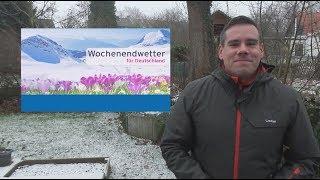 Wochenendwetter: Nach Schnee und Eisregen Milderung
