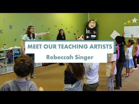 Meet our teaching artists - Rebeccah Singer