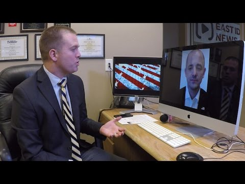 Presidential candidate Evan McMullin speaks with EastIdahoNews.com