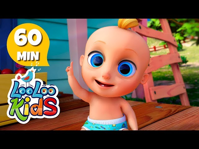 One Little Finger - Learn English with Songs for Children | LooLoo Kids