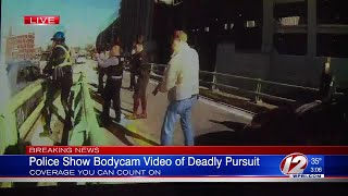 Body Camera Footage of Officer-Involved Shooting in Providence