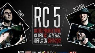 Rap Contenders : Edition 5 - Jazzy Bazz vs Gaïden (Battle pour le Titre)