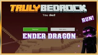 Truly Bedrock S0 EP19 : Ender Dragon Fight [ Minecraft, MCPE, Bedrock Edition,Windows 10 ]