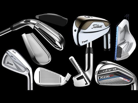 Golf's 2017 Best & New IRONS
