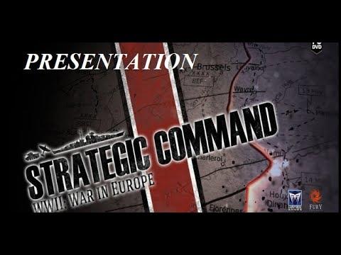 PRÉSENTATION: strategic command wwII war in europe fr |