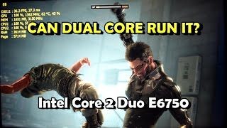 10 Games on Core 2 Duo E6750 + 4GB (AC, DOOM, DX:MD, CoD:MWR & More)