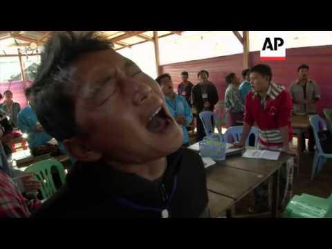 Heroin addicts swap needles for God