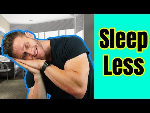 4 Ways to Get By on Less Sleep [REAL SCIENCE]