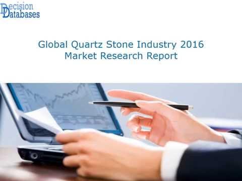 Quartz Stone Market Analysis 2016 Development Trends