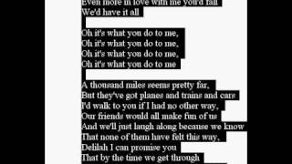 vuclip hey there deliha lyrics