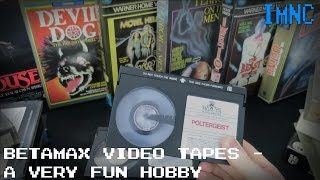 Betamax Video Tapes - A Very Fun Hobby! | IMNC