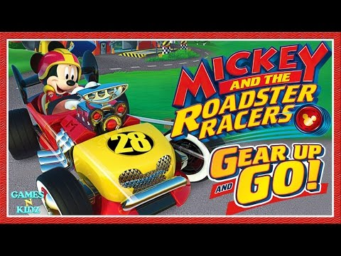 Mickey And The Roadster Racers Gear Up And Go Racing Game Disney Junior App For Kids Youtube