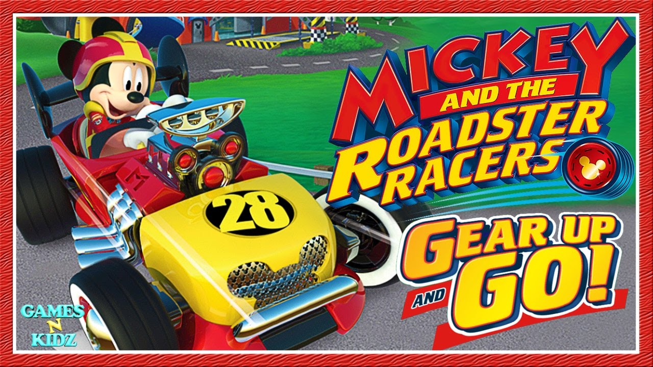 mickey and the roadster racers gear up go racing game disney junior app for kids