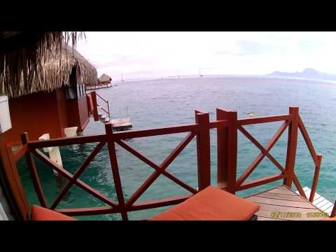 Over-water Bungalow, Hotel InterContinental, Papeete, Tahiti, French Polynesia