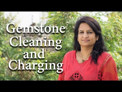 Increase power of your Gemstone by cleaning and charging