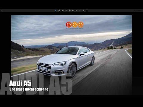 Nouvelle Audi A5 Coupé 2017, une grâce Hitchcockienne - Essai