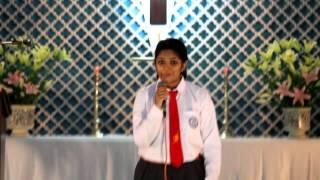 """En Uyirana Yesu"" Tamil Song Sung by Ragini"