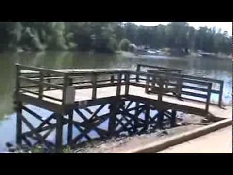 Allen Fishing Access Area in Gaston County, N C