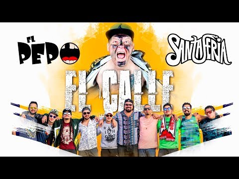 El Pepo ft SantaFeria - El Calle (Video Lyric Oficial) | Cumbia