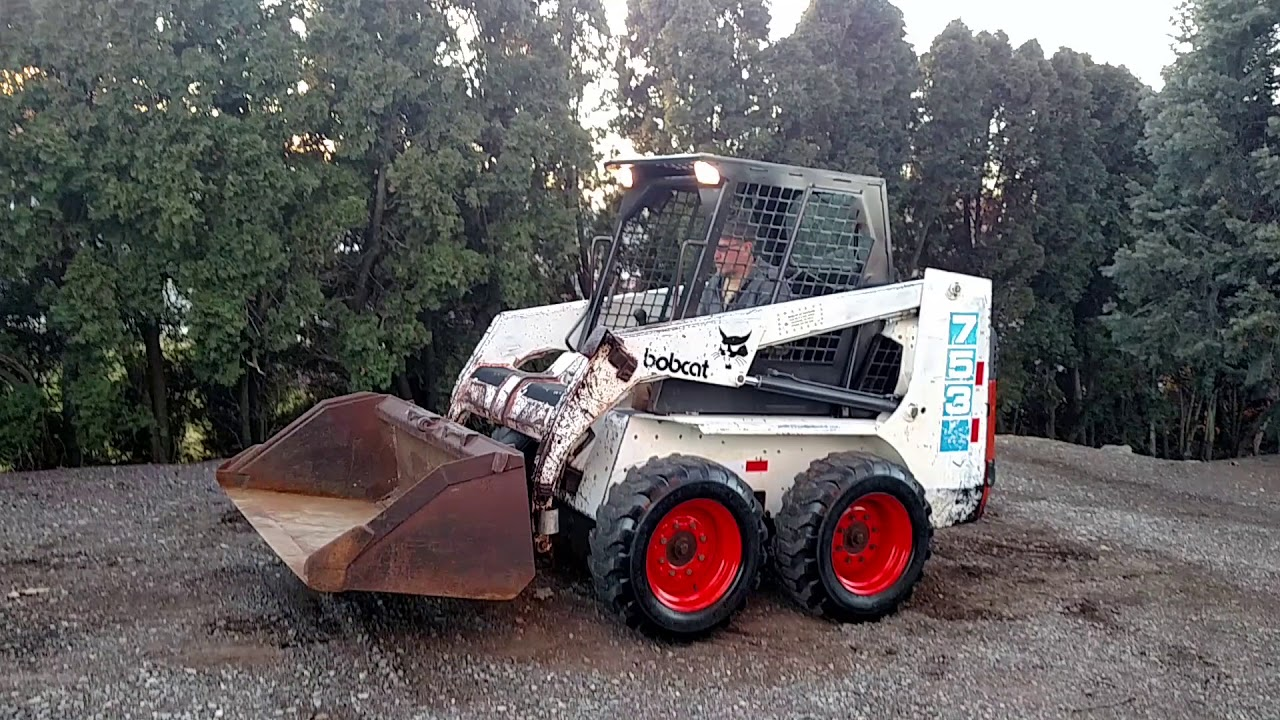 Bobcat 753 Skid Steer Loader For Sale 717 658 6848 Youtube