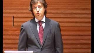 Miguel Maduro speech special award speach, Iberian Lawyer 40 under Forty Awards 2009