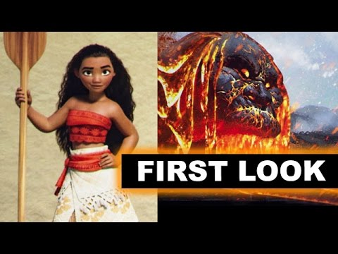 Disney's Moana 2016 - First Look at D23 Expo 2015, Review aka Reaction - Beyond The Trailer