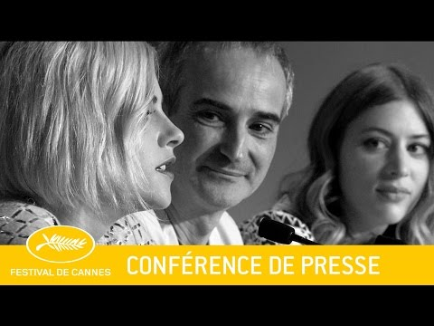 PERSONAL SHOPPER - Press Conference - EV - Cannes 2016