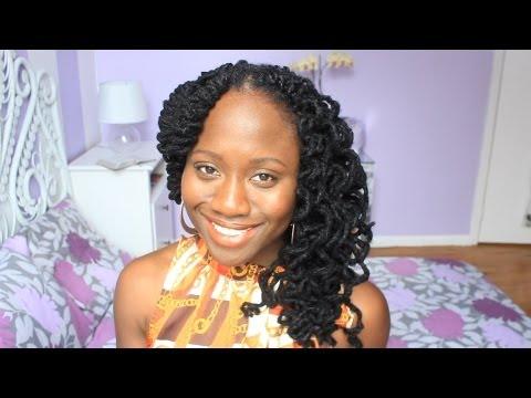 Loxperiement | Two Strand Twists + Curls | JASMINE ROSE