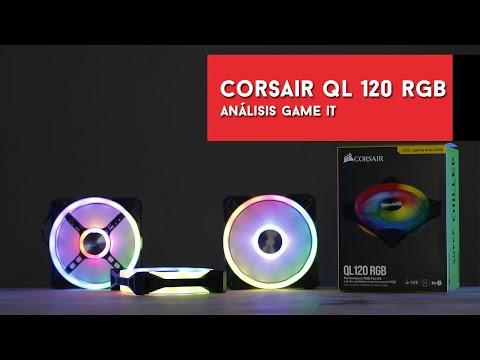 Corsair QL120 RGB, review y unboxing en español