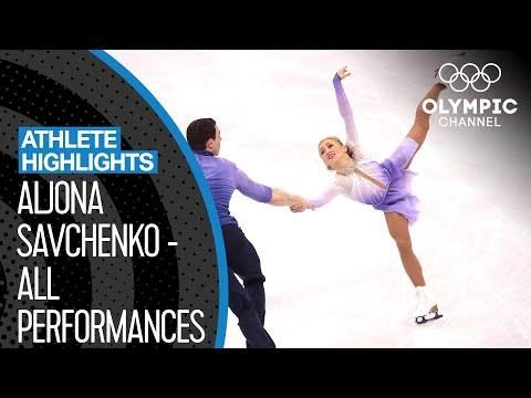 Aljona Savchenko - 2018 Olympic Champion & World Record Holder!   Athlete Highlights