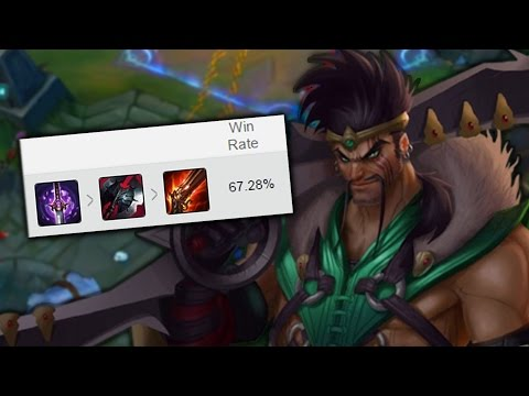 BLACK CLEAVER DRAVEN - Almost 70% Win Rate in KOREAN DIAMOND (League of Legends)