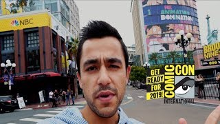 San Diego Comic-Con 2019 | 1 Day Before the Event