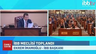 İBB Meclisi eylül ayı toplantısı 1. oturumu Saraçh