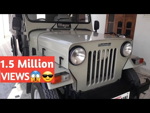 Mahindra Major Jeep |All Orignal | Review| 2WD CL-550 MDI | 1101 | Modified Jeep | New Thar 4×4