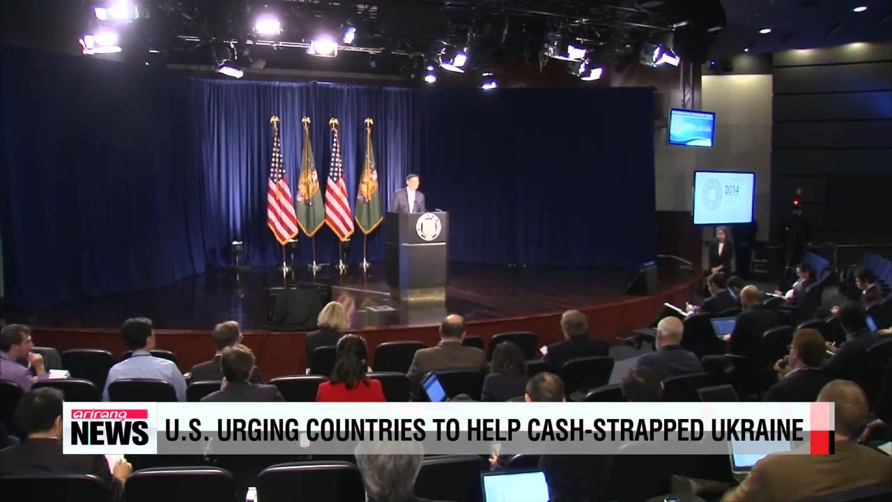 U S urging countries to help cash strapped Ukraine - YouTube