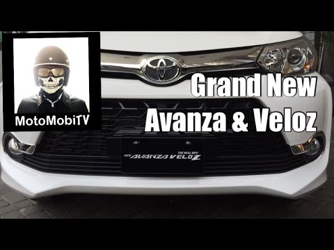 Grand New Avanza and Grand New Veloz - Indonesia