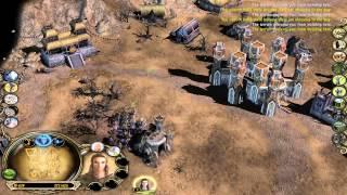 LOTR BFME II 1.06 Live Commentary #3: 3v3 On Rhun