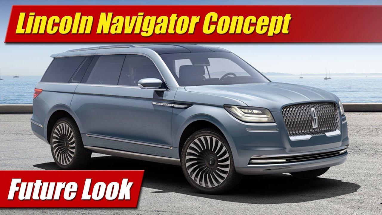 Future lincoln navigator concept