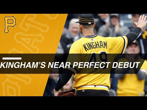 Kingham flirts with perfecto in MLB debut