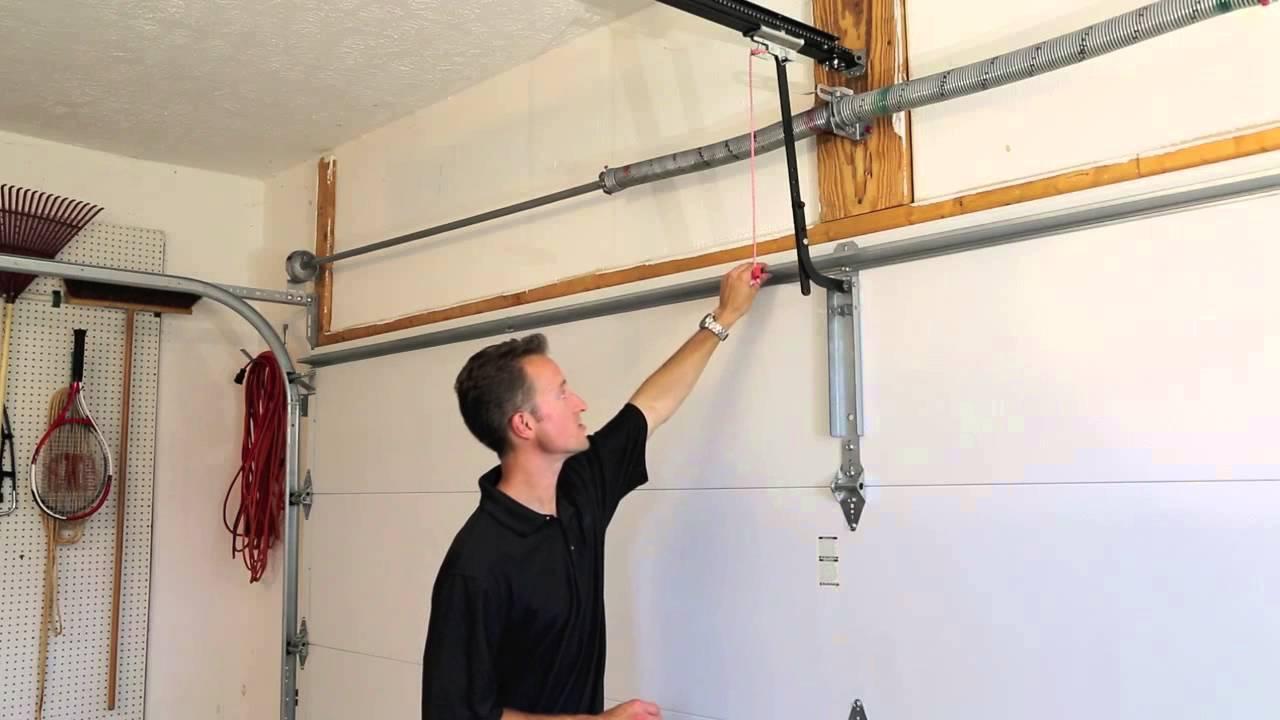 is your garage door properly reinforced to work with your opener youtube [ 1280 x 720 Pixel ]