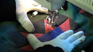 Quilt Along #5 - Stippling In Blocks