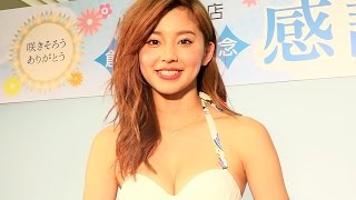 朝比奈彩 三愛水着イメージガールは淡路島で一番速い美人アスリートだった! 水着とゆかたのファッションショー