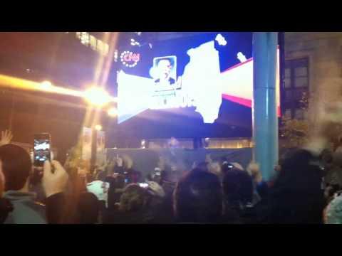 Chicago celebrates Obama's reelection - Chicago Urbanite