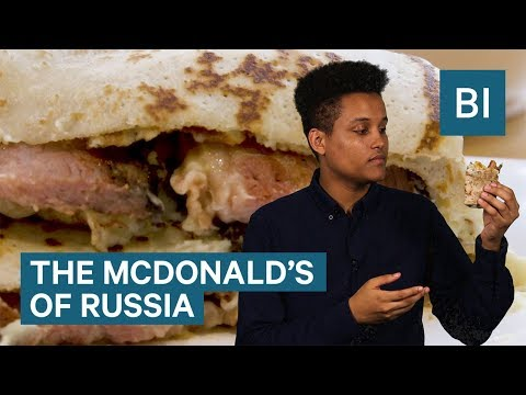 Teremok is the McDonald's of Russia — and it's really good